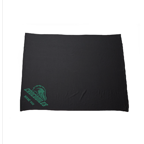 Crocodiles Fleece Blanket (Customizable)
