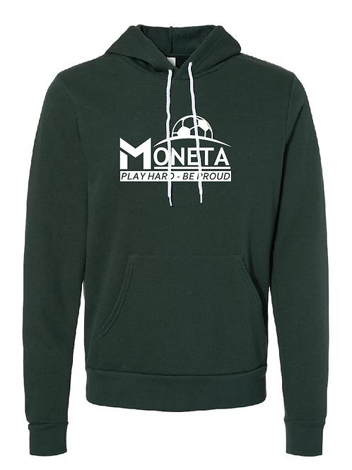 Unisex Fleece Hoodie - U8 Moneta Soccer