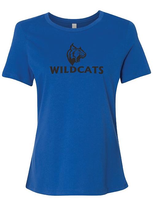 Wildcats Women's Relaxed Jersey Short Sleeve Tee