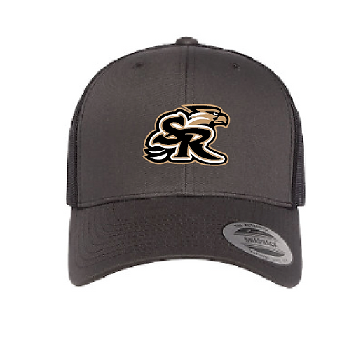 SR Flex Fit 2 Tone Trucker Embroidered Hat