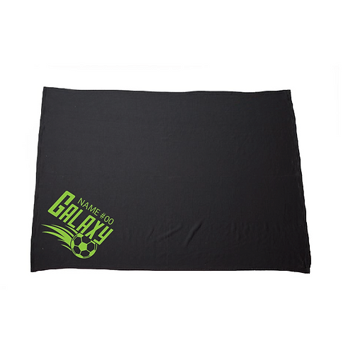 U10 Galaxy Fleece Blanket (Customizable)