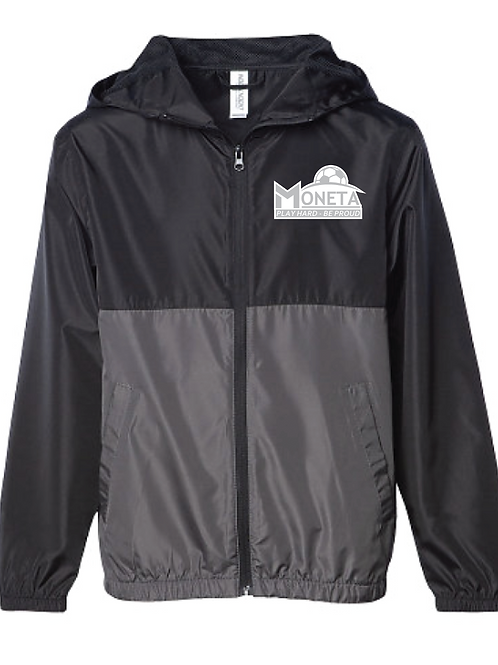 Lightweight Windbreaker - Moneta Soccer