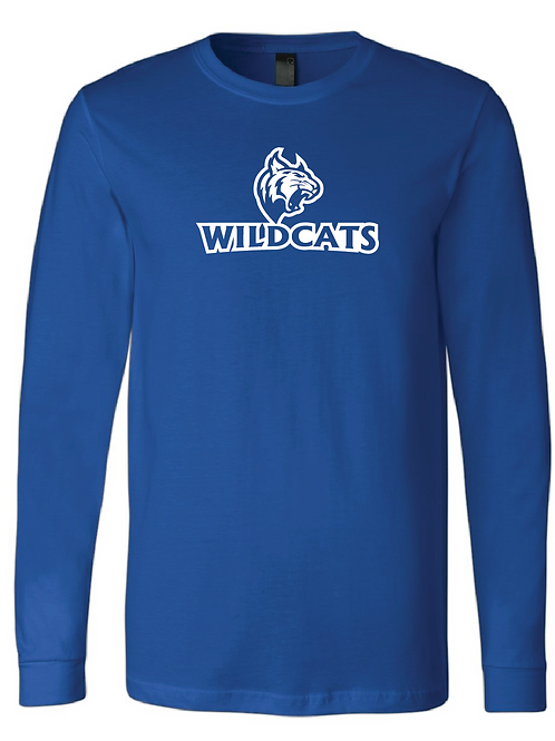 Youth Wildcats Softball Longsleeve T-Shirt