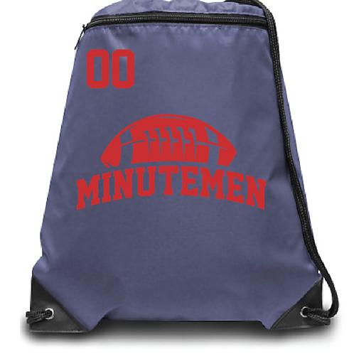 Minutemen Zippered Drawstring Backpack
