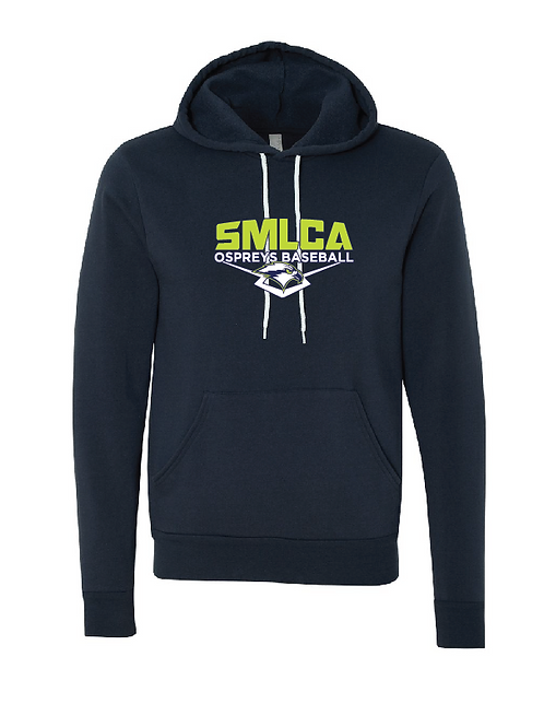 Unisex Fleece Hoodie - SMLCA Ospreys Baseball