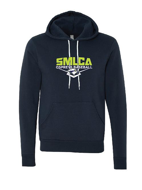 Unisex Fleece Hoodie - SMLCA Ospreys Baseball