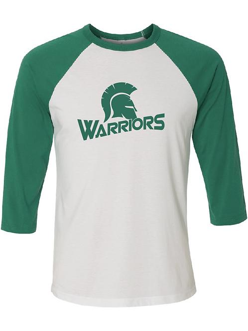 3/4 Length Warriors Baseball