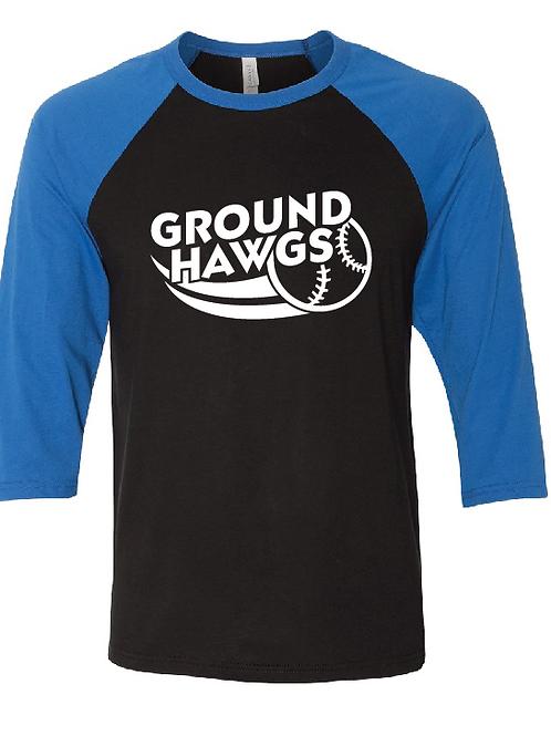3/4 Length Ground Hawgs Raglan