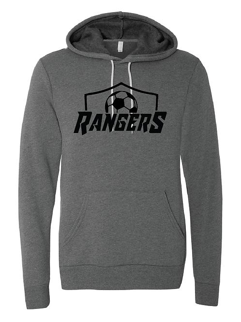 Unisex Fleece Hoodie - Rangers Soccer