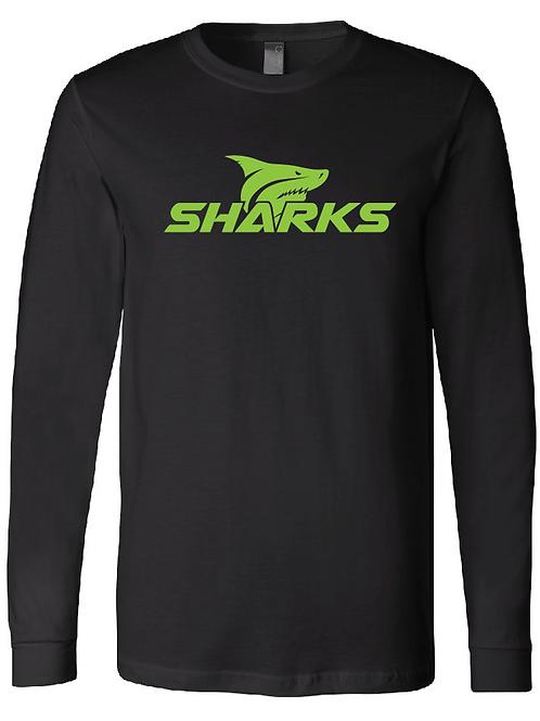 Youth U8 Sharks Longsleeve T-Shirt