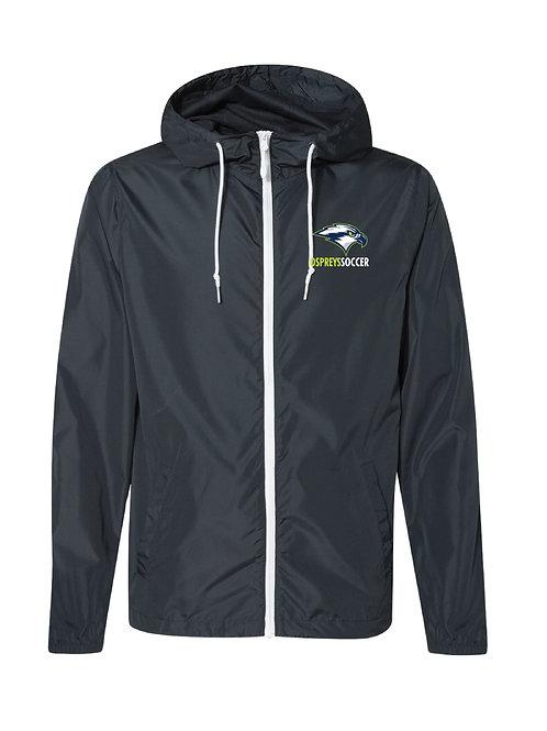 Embroidered Lightweight Windbreaker - SMLCA Ospreys Soccer