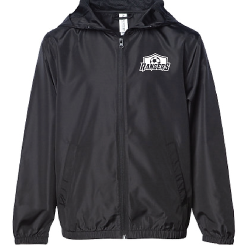Lightweight Windbreaker - U10 Rangers Soccer (Youth/Adult)