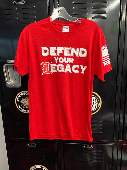 Defend Your Legacy Short Sleeve