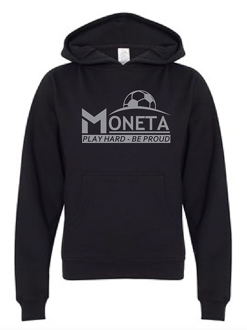 Youth Fleece Hoodie - Moneta Soccer