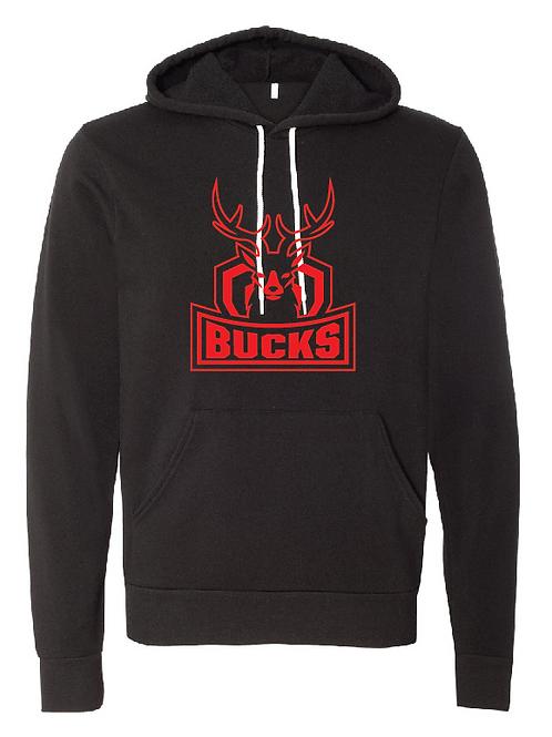 Unisex Fleece Hoodie - Bucks