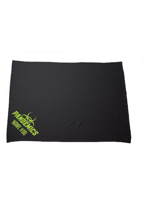 Pandemics Fleece Blanket (Customizable)