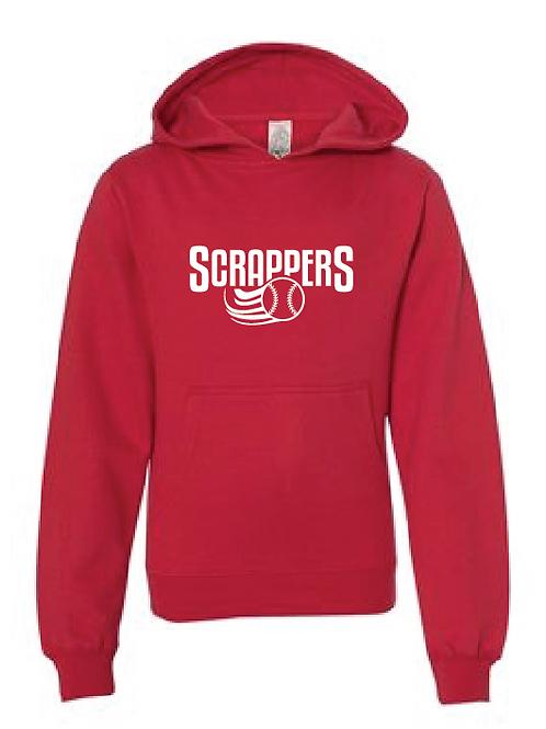 Youth Fleece Hoodie - Scrappers Baseball
