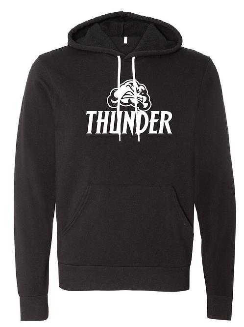 Unisex Fleece Hoodie - Thunder Soccer