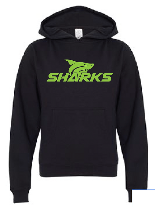 Youth Fleece Hoodie - U8 Sharks Soccer