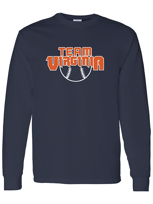 Long Sleeve - Team Virginia - Ball Shirt