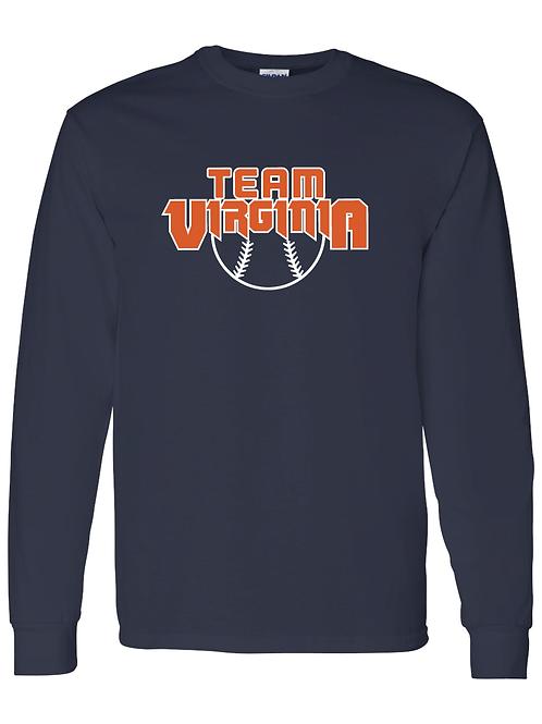 Long Sleeve - Team Virginia - Ball Shirt