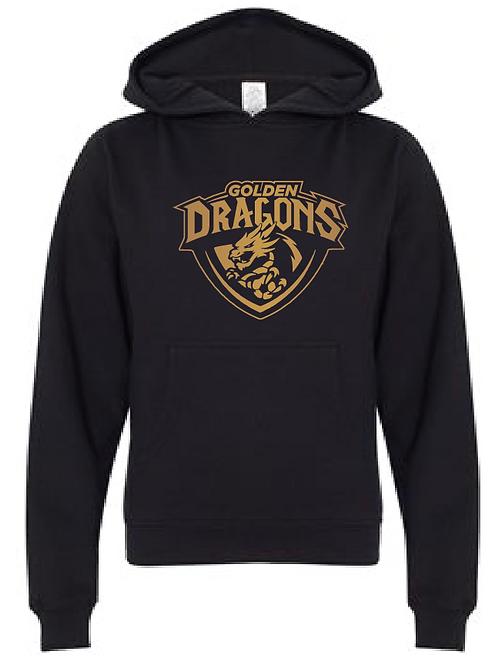 Youth Fleece Hoodie - Golden Dragons Soccer