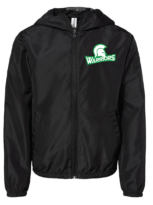 Lightweight Windbreaker - Warriors Baseball