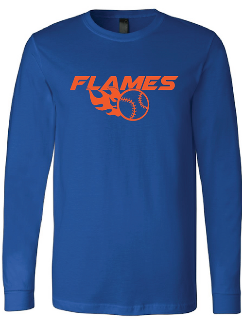 Youth Flames Longsleeve T-Shirt