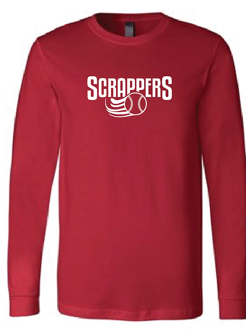 Youth Scrappers Baseball Longsleeve T-Shirt