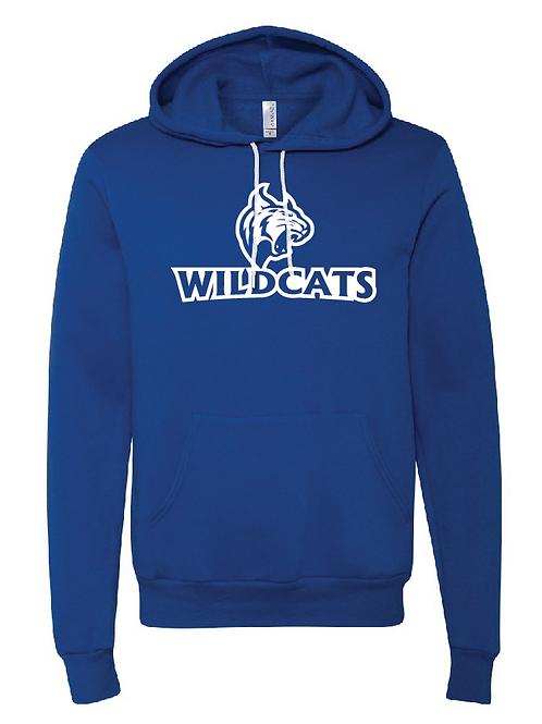 Unisex Fleece Hoodie - Wildcats Softball