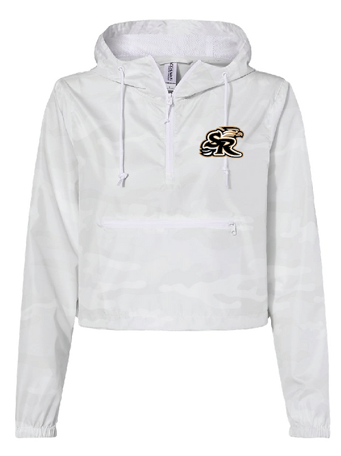 Ladies Crop SR Pullover Windbreaker