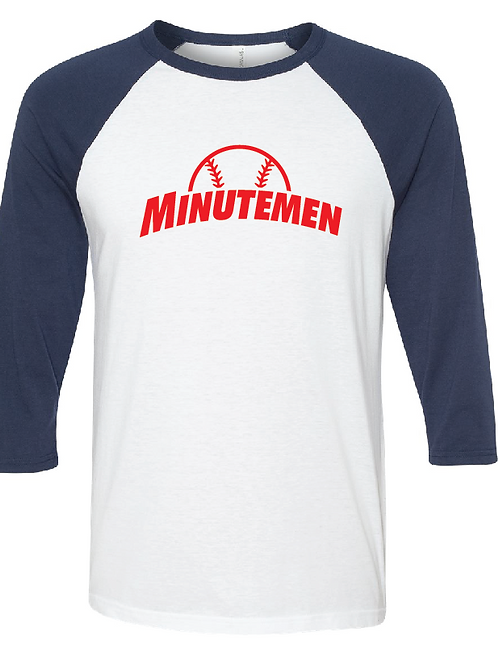 3/4 Length Minutemen (T-Ball) Raglan