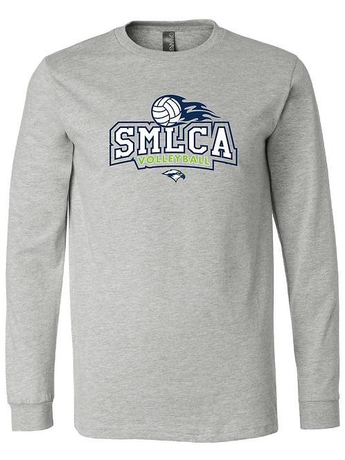 Unisex Long Sleeve Tee- SMLCA Volleyball