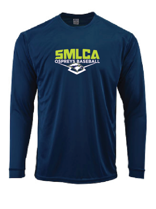 Performance Longsleeve - SMLCA Ospreys Baseball