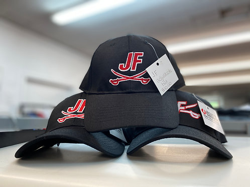 JF Stuctured Baseball Cap - Velcro Strap Adjustment