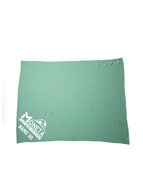 U8 Moneta Fleece Blanket (Customizable)