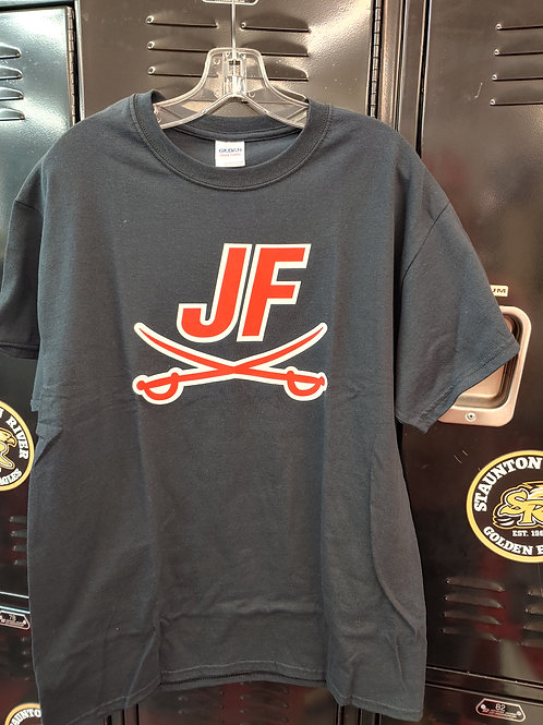 (LAST ONE!) Adult Large JF Logo Tee