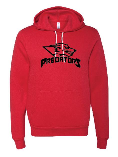Unisex Fleece Hoodie - Predators Soccer