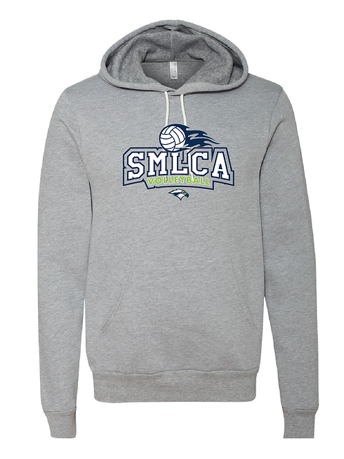 Unisex Fleece Hoodie - SMLCA Volleyball