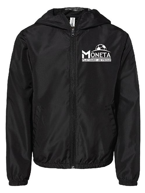 Lightweight Windbreaker - U10 Moneta Soccer