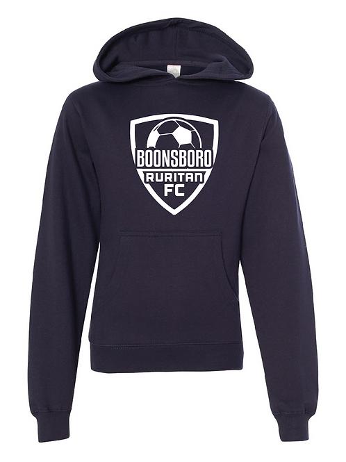 Unisex Fleece Hoodie Navy -  Boonsboro Soccer