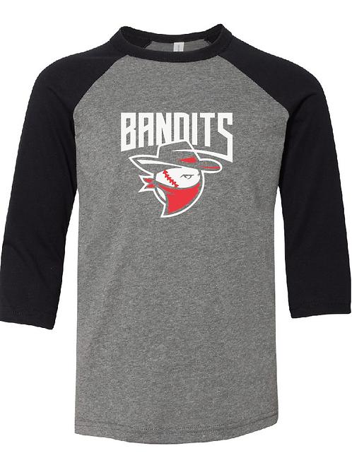 Youth 3/4 Length Bandits Baseball