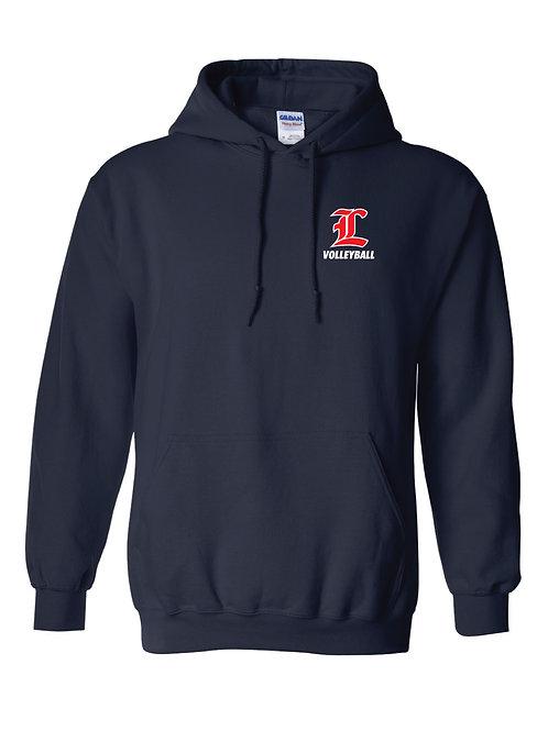 "Liberty ""L"" Volleyball Hoodie"