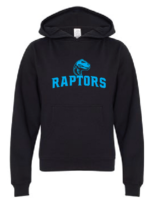 Youth Fleece Hoodie - Raptors Soccer