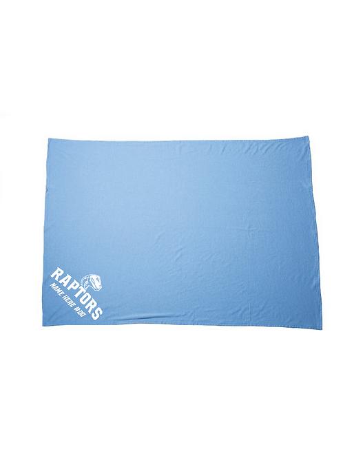 Raptors Fleece Blanket (Customizable)