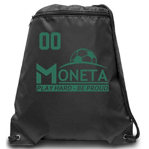 U8 Moneta Zippered Drawstring Backpack