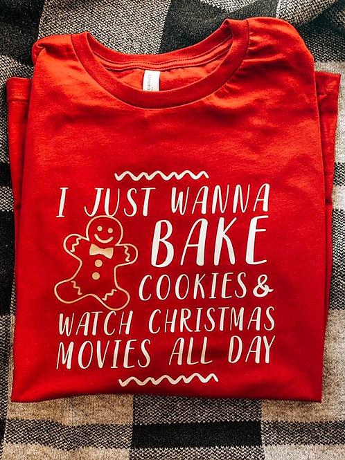 Just Wanna Bake Longsleeve