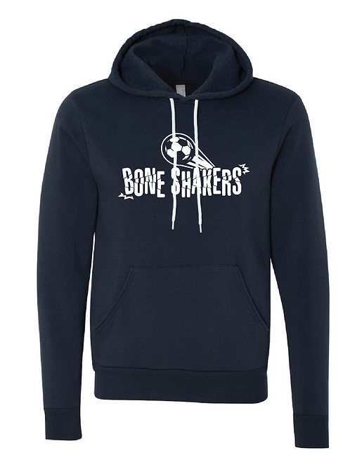 Unisex Fleece Hoodie Navy -  Bone Shakers Soccer