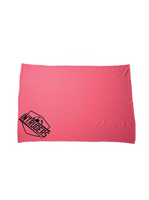 Intruders Fleece Blanket (Customizable)