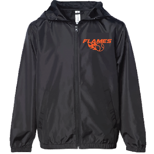Lightweight Windbreaker - Flames (Youth/Adult)